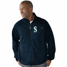 G-III Sports by Carl Banks Seattle Mariners Navy Full Count Track Jacket