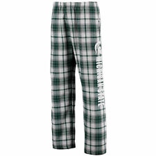 Michigan State Spartans Green/White Classic Flannel Pajama Pants