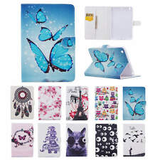 UK Magnetic Pattern Leather Stand Smart Case Cover  for iPad 2 3 4 Mini Air Pro