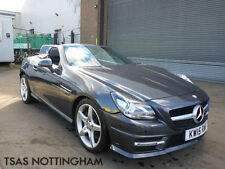 2015 Mercedes-Benz SLK 250 Convertible AMG BlueEFFICIENCY Damaged Salvage CAT D