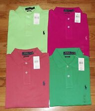 NWT Mens Polo Ralph Lauren Classic Fit Polo Shirt Pony Logo Choice 4 Colors *4G