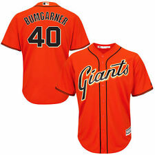 Majestic Madison Bumgarner San Francisco Giants Orange Cool Base Player Jersey