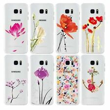 Cute PC TPU Hard Phone Skins Case Cover For Apple iPhone 6 6S Plus Flower Style