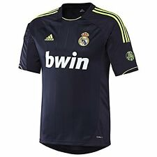 "REAL MADRID FC AUTHENTIC adidas SUPPORTER AWAY JERSEY 12/13 ""SIZE L"" ""110 YEARS"""