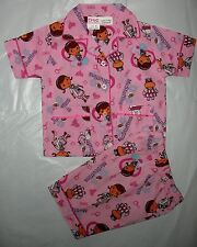 New Disney Doc McStuffins Girls Summer Pyjamas/PJ Size 1,2,3,4,5,6