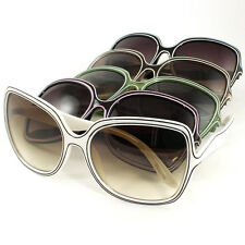 Sunglasses 100% UV400, New Ladies Fashion, Square Style, 5 Colors
