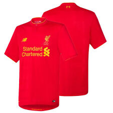 LIVERPOOL NEW BALANCE HOME JERSEY 2016 2017 FOOTBALL CLUB SOCCER TEAM OFFICIAL