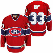 CCM Patrick Roy Montreal Canadiens Red Heroes of Hockey Alumni Jersey