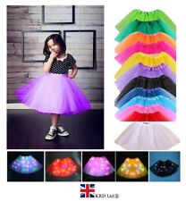 High Quality KIDS GIRLS TUTU SKIRTS Fancy Skirts Tulle Dress Up Party 3 Layers