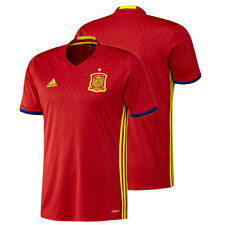 SPAIN ADIDAS HOME JERSEY 2016 EURO OFFICIAL NATIONAL SOCCER FOOTBALL TEAM MEN