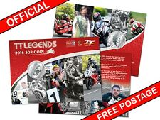 2016 Isle of Man Official TT Legends 50p Coin Gift Pack (AH70)