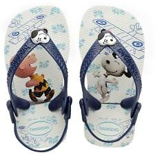 Havaianas Baby Snoopy White Rubber Flip Flops