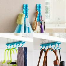 Practical Kitchen Cabinets Ceiling Desk Cupboards Hanging Rack Rod Wall Hooks
