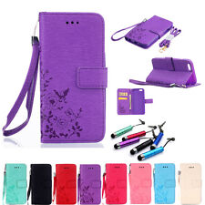 Fashion Luxury Flip Stand Card Hybrid Wallet Leather Case Cover For iPhone+Gift