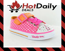 SKECHERS TWINKLE TOES KIDS GIRLS SNEAKERS/CASUAL FASHION LIGHT UP SHOES