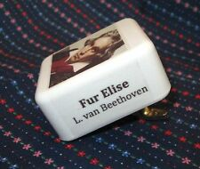 Fur Elise by Beethoven and other Classical Music Box Movements - Collectable