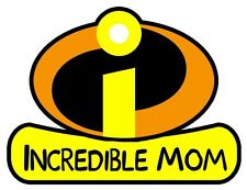 Incredibles MOM Iron On T Shirt Fabric Transfer #21