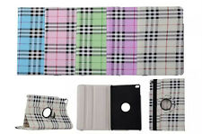 Fashion Scotland Stripes 360 Rotating Stand Case Cover For Apple Tablet Device