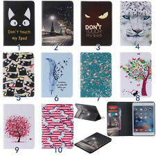 Cute Painting Folio Leather Cover Case For Apple iPad 2/3/4 Air Mini Pro Tablet