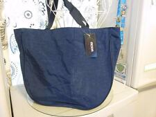 Large Nylon BEACH BAG~Carry all Tote Bag~Travel Tote~Gym Bag~Navy,Green,Blue~NWT