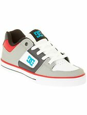 DC Grey-Black-Red Pure Kids Shoe