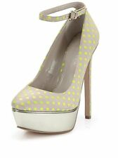 Carvela Granted Dotty Ankle Strap Platform shoe Size 6 RRP £160