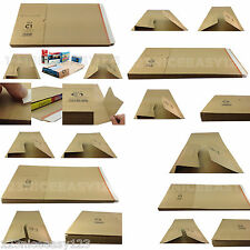 POSTING BOXES Corrugated Cardboard Mailers Protective Postal Packaging CD/Books