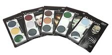 Mehron Tri Colour Makeup Palette for fancy dress and character face painting