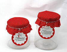 13cm x 13cm Apothecary Jars Candy Lolly Buffet Glass Jar Wedding Party & Scoops