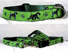 Dog Ink NEW US Made Leash/Collar Set Kerry Blue Terrier