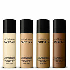 Bare Minerals bareSkin Brightening Serum Foundation all colors NIB 30ml