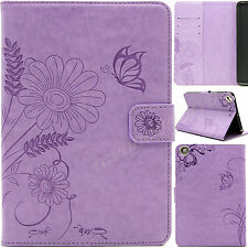 Leather Flip Smart Wallet Butterfly Stand Cover Case For Apple iPad 2 3 4/ Mini