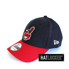 New Era - Cleveland Indians Curved Brim Team Stretch Fit