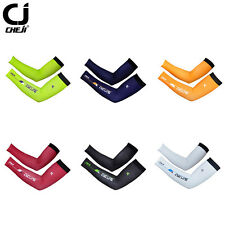 CHEJI Pioneer Bicycle Bike Arm Warmers Unisex Running Cycling Arm Sleeves Tight
