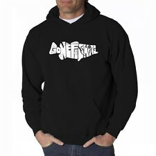 Men's Hooded Sweatshirt - Bass - Gone Fishing