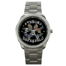 New Avenged Sevenfold Logo Sport Metal Watch Free Shipping