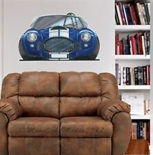 Cobra Kit Car Cartoon Muscle Car WALL GRAPHIC DECAL #4919  MAN CAVE DECOR