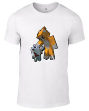 STAMPY BARNABY CAT KIDS ADULT UNISEX T-SHIRT MINE FUNNY CRAFT GIFT XBOX GAMER 5*