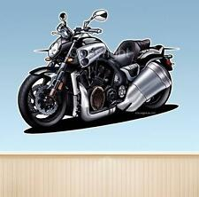 Max Sport Bike Motorcycle Road Cruiser  WALL DECAL MAN CAVE OFFICE MURAL 9345