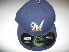 New Era 59Fifty Fitted Onfield milwaukee brewers Cap / Hat Choose Size NWT