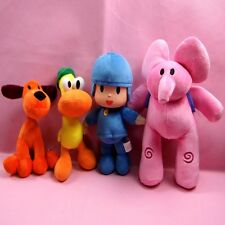 Bandai Pocoyo Elly Pato Loula Soft Plush Stuffed Figure Toy Doll