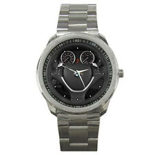 New BMW X6 Steering Wheel Sport Metal Watch Free Shipping