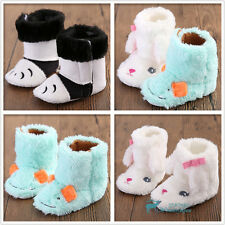 Many New Cute Warm Winter Boots Baby Girl Boy Shoes Toddler Soft Sole Prewalker