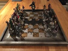 DC Chess Set Batman. Complete With Boards And Three Folders