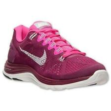 Womens NIKE LunarGlide +5 Raspberry Running Trainers 599395 616