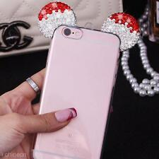 New Fashion Lovely Mickey Ears Soft Silicone Case Cover For Apple iPhone 6 6S