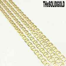 """NEW 10K YELLOW SOLID GOLD 18""""-22"""" 2.5 MM GUCCI MARINER LINK CHAIN 10KT NECKLACE"""