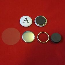 "125 pcs 1"" inch Standard Size Magnet Button Set for Button Makers & Machines"