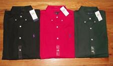 NWT Polo Ralph Lauren Mens Long Sleeve Button Down Poplin Dress Shirt Pony *2U