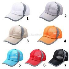 Men Women Breathable Golf Tennis Baseball Cap Snapback Hat Summer Hat Adjustable
